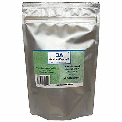 Ferrous Sulfate Heptahydrate - FeSO47H2O - 20% Iron - Very S