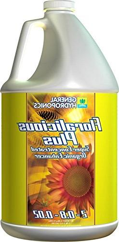 General Hydroponics Floralicious Plus for Gardening, 1-Gallo