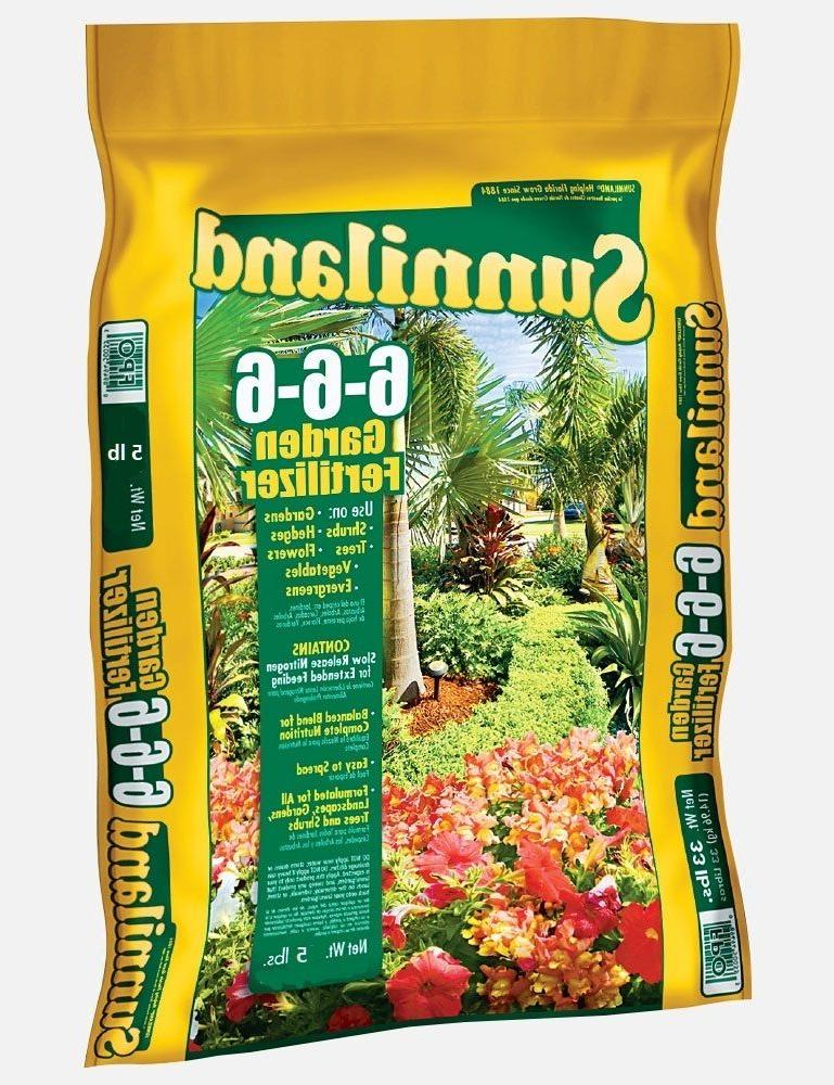 garden fertilizer w nitrogen 6 6 6