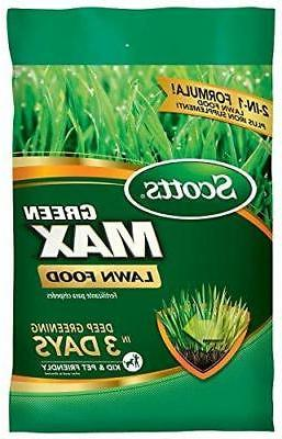 green max lawn food 5 000 sq
