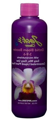J R Peters Jacks Classic Liquid Orchid Bloom Booster, 8-Ounc