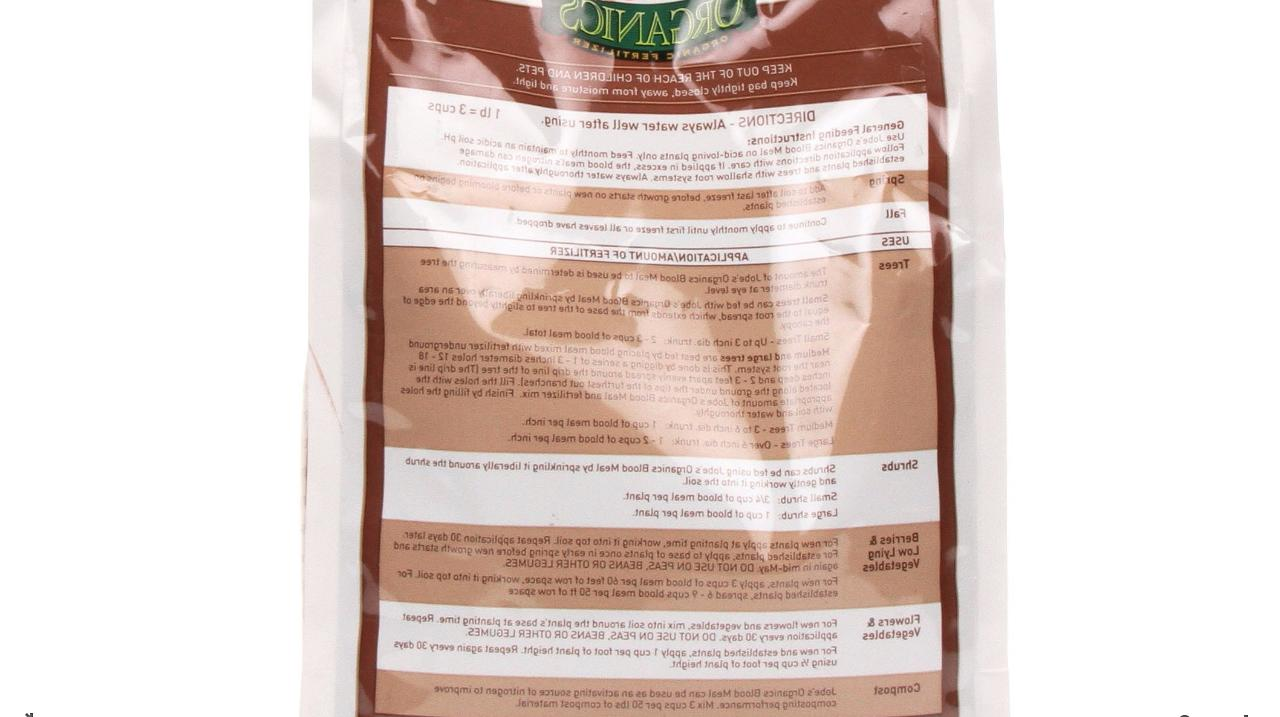 Jobe's Flower Vegetable Extra Blood Meal 3-lbs