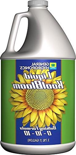 General Hydroponics Liquid KoolBloom 1 Gallon - gh nutrient
