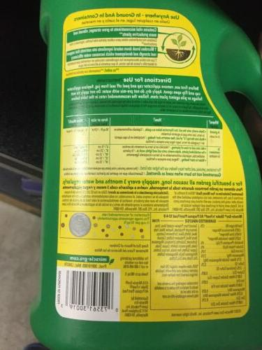 Miracle-Gro Shake Feed Purpose Release Plant Food