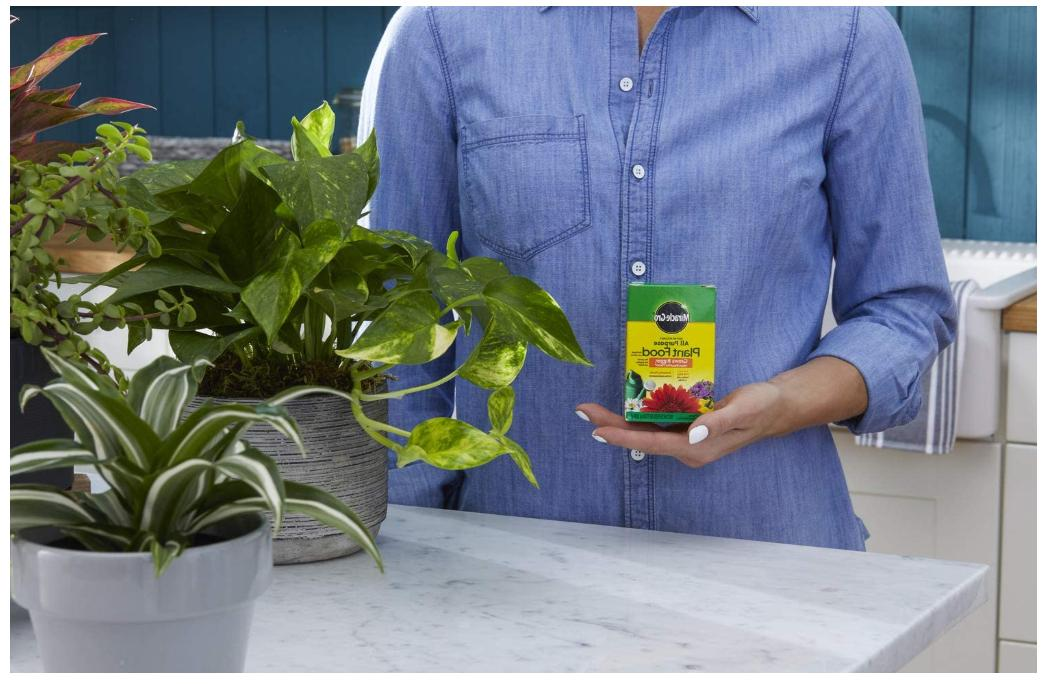 Miracle Grow Plant Food Fertilizer Garden Soluble