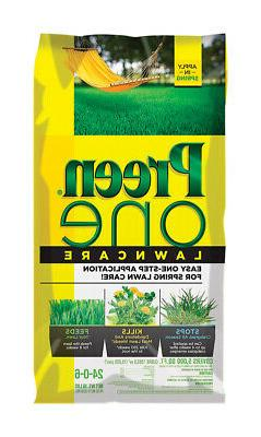 Preen One LawnCare Weed & Feed - 18 lb bag covers 5000 sq ft