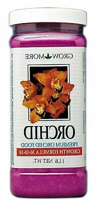 Grow More Orchid - 15oz Premium Orchid Food 30-10-10