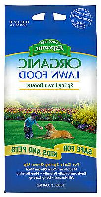 Organic Lawn Food, Spring Application 1, 30-Lbs.