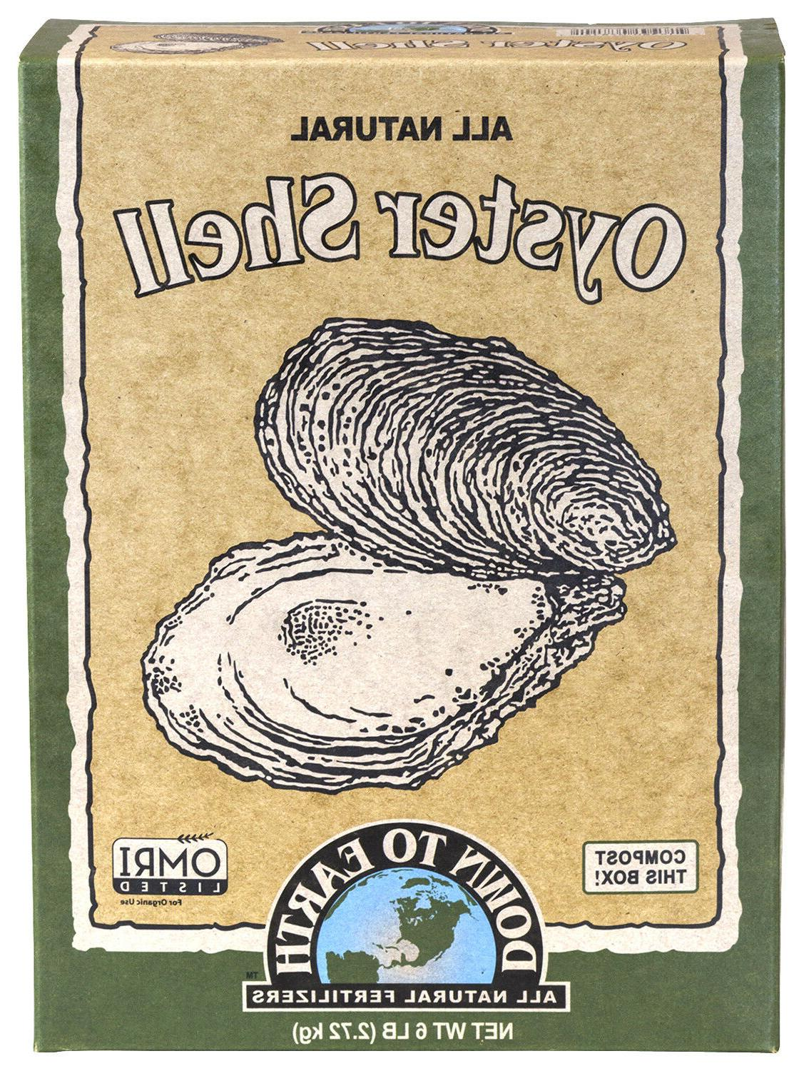 oyster shell 6 lbs all natural dry