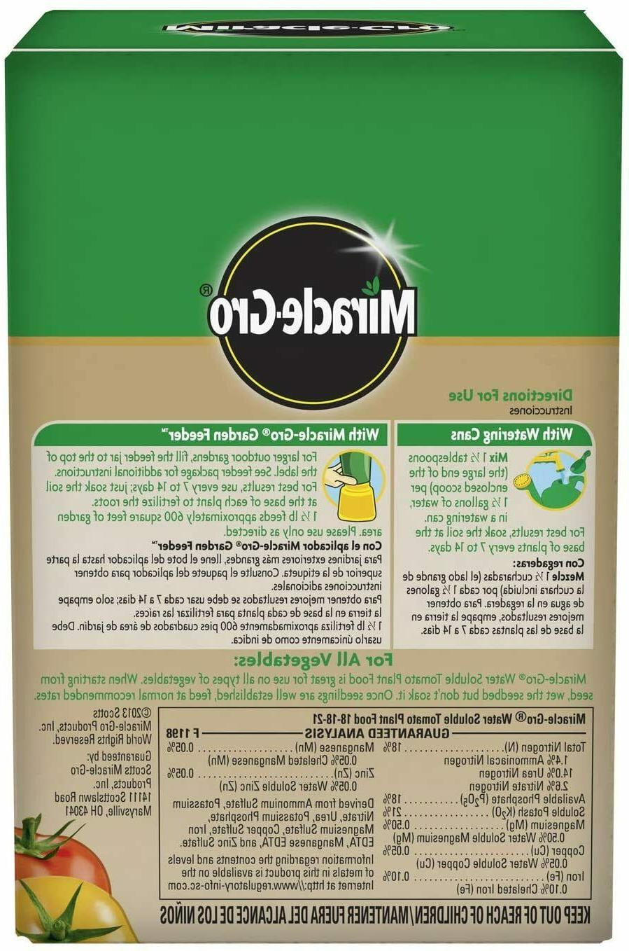 Miracle-Gro Tomato Grow Water Vegetables Fertilizer