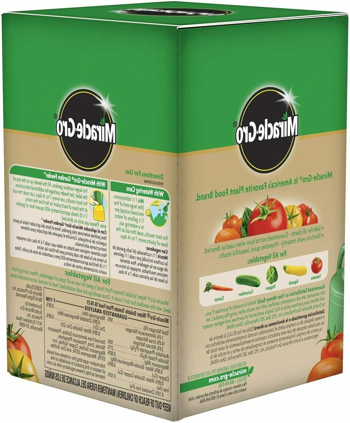 Miracle-Gro Tomato Food Grow Bigger Soluble Vegetables