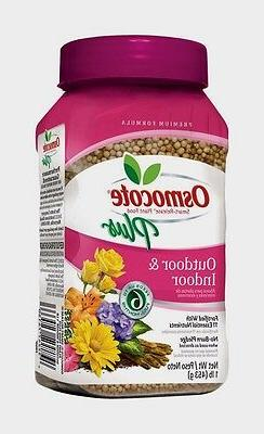 OSMOCOTE PLUS Outdoor Indoor Plant Food Fertilizer Annuals C