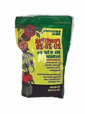 powerpak 20 water soluble fertilizer