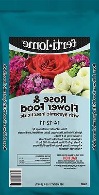 Fertilome Rose & Flower Food Plus Systemic Insecticide 15 lb