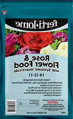 Fertilome Rose & Flower Food With Systemic Insecticide 4 lb