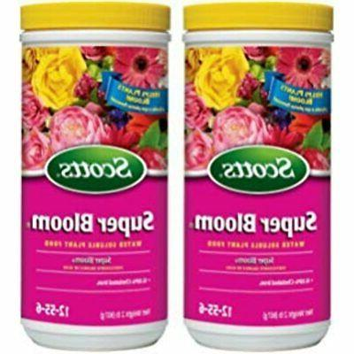scotts 110500 super bloom water soluble plant