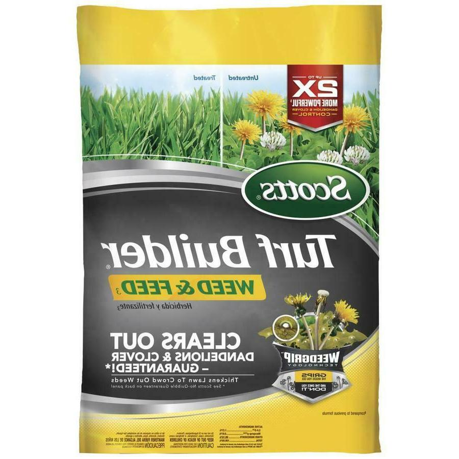 Scotts Turf Builder Weed and Feed 14.29-lb 5000-sq ft 28-0-3