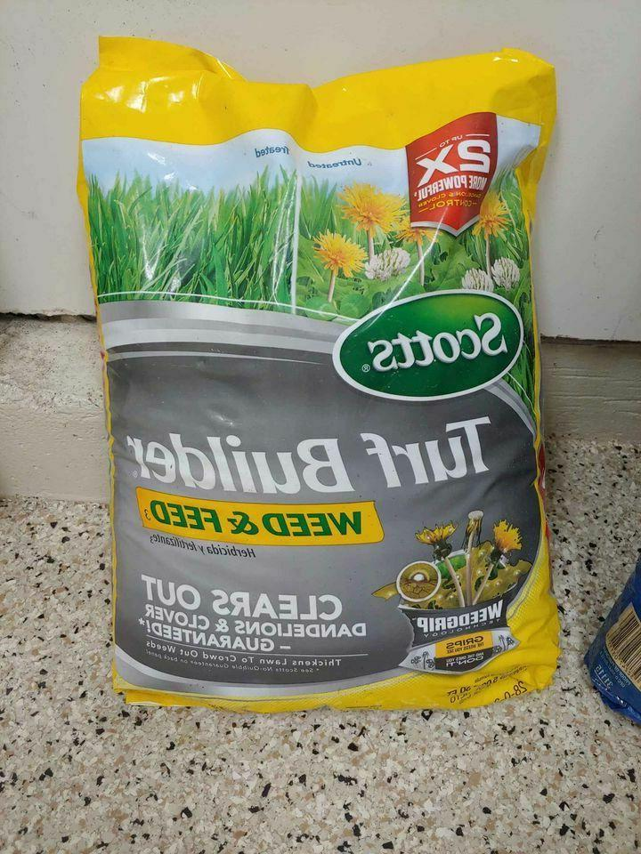 scotts turfbuilder weed and feed
