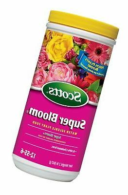 Scotts Super Bloom Water Soluble Plant Food, 2-Pound