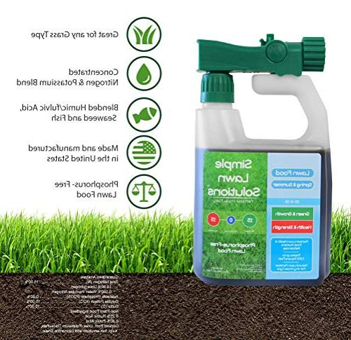 Superior 15-0-15 Lawn Natural Fertilizer Concentrated Type- Simple Green, Strength- Phosphorus-Free