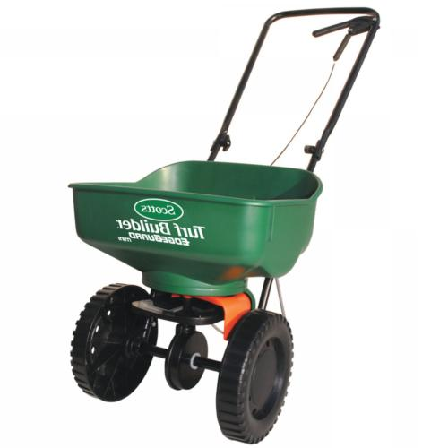 Turf Builder Edge Guard Mini Broadcast Spreader