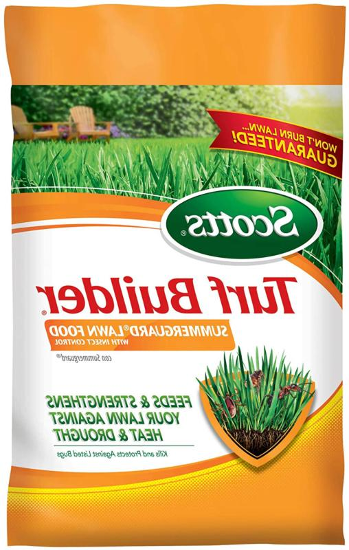 turf builder summerguard lawn food with insect