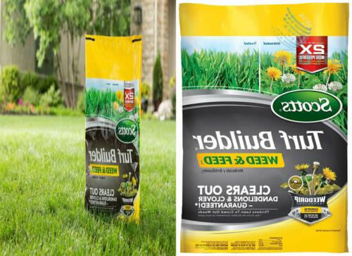 turf builder weed and feed fertilizer not