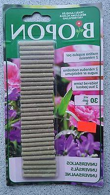 UNIVERSAL Fertilizer Spikes,Sticks for all plant flowers lon