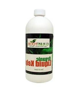 Liquid Kelp Organic Seaweed Fertilizer, 1 quart of concentra