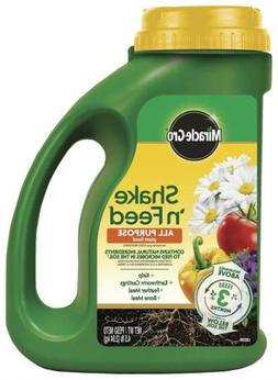 Miracle-Gro 3001910 Shake 'N Feed Patio Lawn Garden Yard Fer