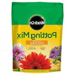 ORCHID PLANT FOOD Miracle Gro Potting Mix Soil 8 Qt Flower F