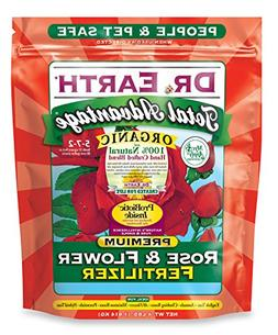 Dr. Earth 702P Organic 3 Rose & Flower Fertilizer in Poly Ba