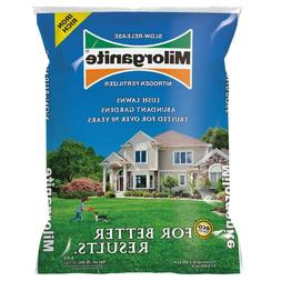 MILORGANITE Organic Fertilizer for Lawn Grass and Plants! Sl