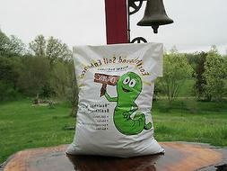 Organic worm castings, 15 lbs. Natures odorless soil enhance