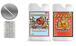 Advanced Nutrients Overdrive and Nirvana 4 Liter with Conver