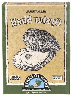 Down to Earth Oyster Shell 6 lbs All Natural Dry Fertilizer