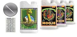 Advanced Nutrients pH Perfect Bloom Grow Micro 1 Liter and A