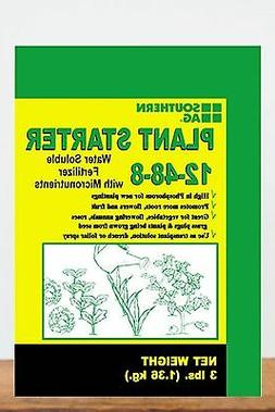 Southern Ag Plant Starter Soluble Fertilizer 12-48-8 in 3 Po