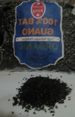 Pure Bat Guano, High Nitrogen Natural Fertilizer