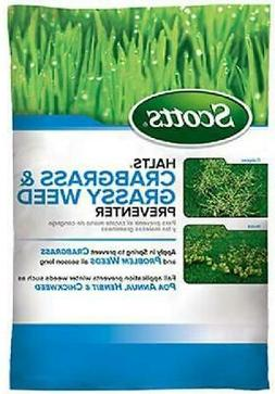 Scotts Halts Crabgrass & Grassy Weed Preventer, 5,000sq-ft