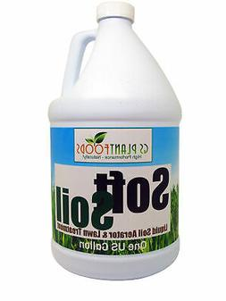 SOFTSOIL Liquid Soil Aerator & Lawn Treatment to fix compact