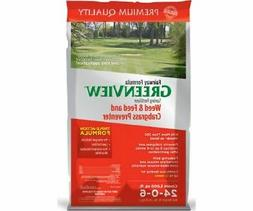 Spring Fertilizer Weed & Feed with Crabgrass Preventer 24-0-
