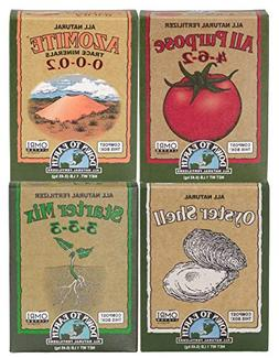 Down to Earth Tomato Garden Organic Fertilizer Starter Pack,
