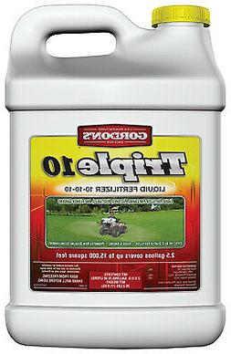 Triple 10 Liquid Fertilizer, 10-10-10, Concentrate, 2.5-Gal.