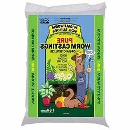 wwsb30lb worm castings organic fertilizer soil builder